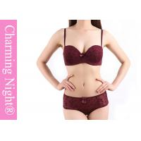 Wholesale Polyester / Spandex Ladies Bra Sets , pretty bra and knicker sets from china suppliers