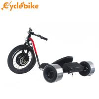 Wholesale Red Color Fat Tire Electric Drift Trike For Adults With Display And Battery from china suppliers