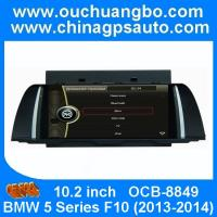 Wholesale Ouchuangbo autoradio gps navigation DVD BMW 5 Series F10 2013-2014 with iPod RDS mp3 BT from china suppliers