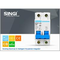 Wholesale Short circuit protect overload Miniature circuit breakers mcb c63 with remote control from china suppliers