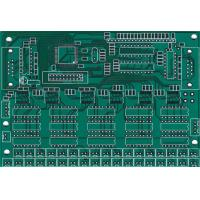 Wholesale Double Layer Immersion Silver FR4 PCB Board 0.5OZ 0.2mm Electronic PCB Boards from china suppliers