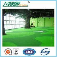 Wholesale Green Outdoor Artificial Grass Carpet Backyard Turf NET Flat Shape 3'' / 4'' from china suppliers
