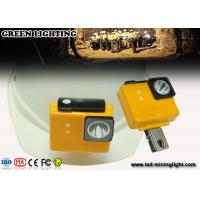 Wholesale IP68 Safety Cordless Mining Headlamp / 18650 Li - Ion Battery Rechargeable Miners Headlamp from china suppliers
