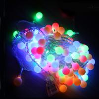 Wholesale AC220V 10m Holiday Decoration LED String Lights with 80LED Balls from china suppliers