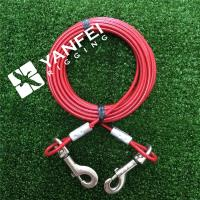 Wholesale 7*7 3/32''-5/32'' Medium Size Dog Tie out Cable from china suppliers