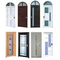 Wholesale PVC Double Glazed Front Doors from china suppliers