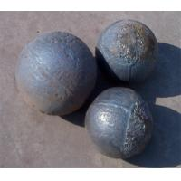 Wholesale High Chrome​ Wear Resistant Forged Steel Grinding Balls Cement Mill > 48 HRC Ak.= 5 - 13J / CM2​Minimum from china suppliers