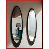 Wholesale Wall Mirror black Frame bedroom mirrors oval mirrors decoration mirrors hotel mirrors from china suppliers