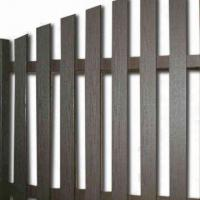 Wholesale Environment-friendly WPC Fencing with 10 Years Warranty, ISO, CE and ASTM Certified from china suppliers