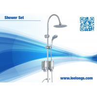 Wholesale Powerful Rainforest Shower Bathroom Columns Stainless Steel With Soap Dispenser from china suppliers