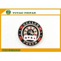 Wholesale Sliver Back Side Dealer Poker Chips Beautiful Engrave Picture from china suppliers