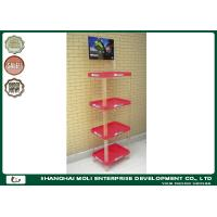 Wholesale Plastic Display Stands Motor Oil Display Rack For Beverage Bottles from china suppliers