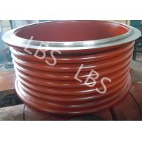 Wholesale High Strength Steel Lebus Grooved Drum Cable Winch Drum / Rope Drum from china suppliers