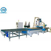 Wholesale Loading Unloading CNC Machine Panel Furniture Production Line With Boring Head / Drilling from china suppliers