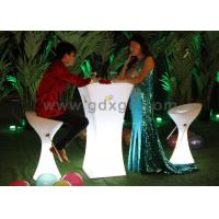 Wholesale Outdoor / Indoor Plastic Glowing Event Led Cocktail Tables For Rent from china suppliers