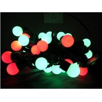 Wholesale 5m/16.5ft 50 Lights RGB Ball LED Color Changing String Lights from china suppliers