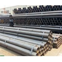 Wholesale A53 / ASTM 5L Round Carbon Steel Seamless Pipe , Seamless Boiler Tubes from china suppliers