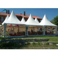 Wholesale European  Style Pagoda Marquee Tents , Outdoor Wedding Tent 5m By 5m from china suppliers