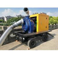 Quality manufature price big type 8inch move water pump portable diesel water pump for sale