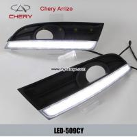 Wholesale Chery Arrizo DRL LED Daytime Running Lights kit autobody parts upgrade from china suppliers