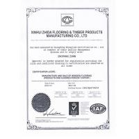 Xinhui Zhida Flooring & Timber Products Factory Co., LTD Certifications