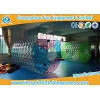 Wholesale Customized TPU Amazing Inflatable Water Roller Amusement Park Ball from china suppliers