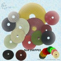 Quality Wet Polishing Pads for Granite and Marble (Diamond Grits# 50 ~ Buff) for sale