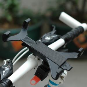 Quality Portable Rotatable Bicycle Bike Handlebar Bracket Mount Tablet Holder For Ipad for sale
