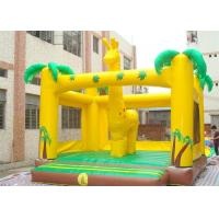 Wholesale Deer Style Inflatable Bouncer , Durable Adult Jumpers Bouncers For Outdoor from china suppliers