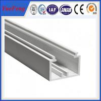 Wholesale YueFeng china factory white powder coated aluminium channel price per kg from china suppliers