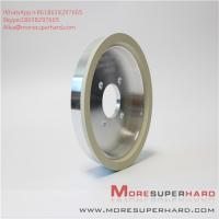 Wholesale 6A2 150D 10W W10 ceramic bonded diamond cutter grinding cup type high efficiency grinding wheel Alisa@moresuperhard.com from china suppliers
