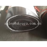 Wholesale Impact resistant SBR rubber sheet roll with fabric insertion reinforcement from china suppliers