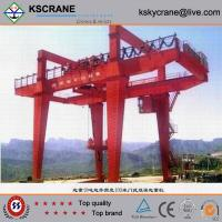 Wholesale Material Handling Double Girder Gantri Crane With Bridge Girder from china suppliers