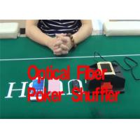 Wholesale Casino Optical Fiber Poker Playing Card Shuffler For Baccarat Gambling Cheat from china suppliers