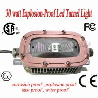 Wholesale 220 Volt CREE 30 Watt LED Explosion Proof Light 6500K 78Ra For Underground Tunnel from china suppliers