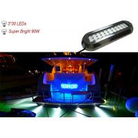 Wholesale 90W IP68 Waterproof Marine Underwater LED Lights , RGB LED Boat Navigation Light from china suppliers