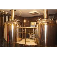 Buy cheap 500L beer brewing systems for restaurant with warranty of 3 years from wholesalers