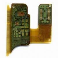 Wholesale 4-layered Rigid-flexible PCB with Immersion Gold Board Technology from china suppliers