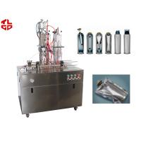 Wholesale Semi Automatic Bag On Valve Aerosol Filling Machine 4000-5000cans/Day PLC Control from china suppliers