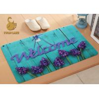 Wholesale Eco Friendly Family Outdoor Entry Rugs , Water Absorbing Floor Mats from china suppliers