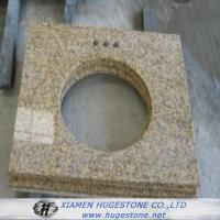 Wholesale Beige Sink Countertops, Yellowish Granite Sink Table Tops from china suppliers