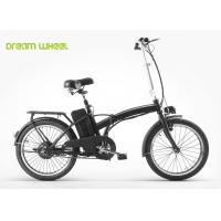 Wholesale Performance EN15194 black Folding Electric Bike 25-30KM distance from china suppliers