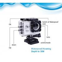 Wholesale Mini DV Wifi Action Camera , 1080P Helmet Sport Camera 59*29*41mm from china suppliers
