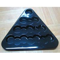 Wholesale PET Plastic Blister Packaging , Eco Friendly Blister Triangle Trays from china suppliers