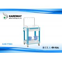 Wholesale Professional Hospital Medication Carts Equipment , Stainless Steel Medical Cart With Drawer from china suppliers