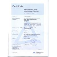 China Zhonghai Steel Pipe Manufacturing Corporation. Certifications
