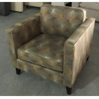 Wholesale Hotel wooden fabric upholstery lounge chair ,single sofa LC-0018 from china suppliers