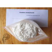 Wholesale White Crystalline Powder Anti Estrogen Steroid Clomid Clomiphene Citrate For Breast Cancer from china suppliers