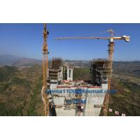 Buy cheap Good TC7032 12T Topkit Tower Crane 70m Boom 3m Potain Mast Section from wholesalers