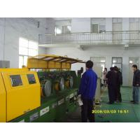 Quality CO2 Gas Shielded Wire Drawing Equipment , Electrical Welding Electrode Making Machine LZ10--560 for sale